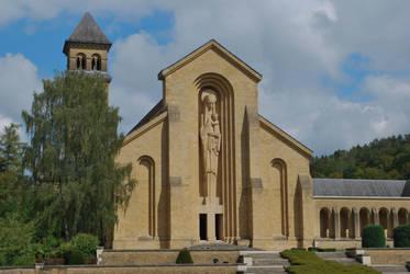 Abbaye d'Orval - Facade by ReneHaan