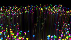 4k: Christmas Fibre Optics by hsoJ95