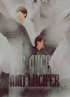 of angel and lucifer by tekhniklr