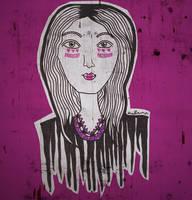 purple lady /// by tekhniklr