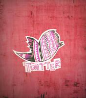 fly, twitter birdy, fly! by tekhniklr