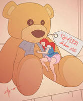 [COMMISSION] Teddy Bear by ZeroHour99