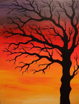 Winter Tree by MissChievous86
