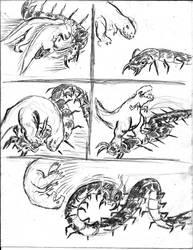 El camino del colmillo - Boceto 18 by Juracan