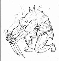 Zombie Mutilado 02 by Juracan