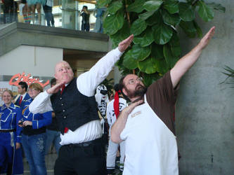 Major Armstrong and Sig Curtis... - Fanime 2012 by MoonRadience