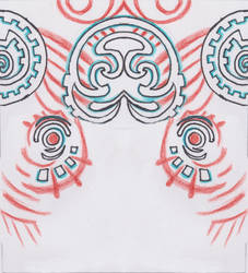 Pattern of Midnas Skirt by Taneja