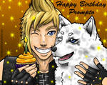Happy Birthday Prompto 2018 by Lindsay-N-Poulos