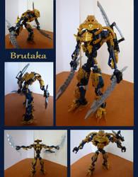Customized Brutaka by Teridax467