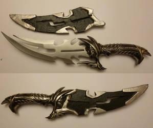 Skull Dagger Sheath by Teridax467