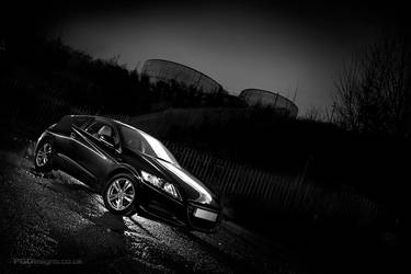 Honda CR-Z Lightpainted by PGDsx