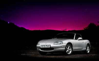 Lightpainted MX5 by PGDsx