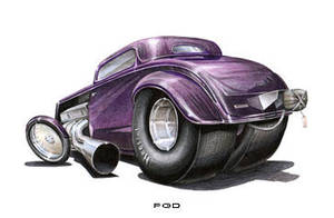 '34 Ford Drag car by PGDsx