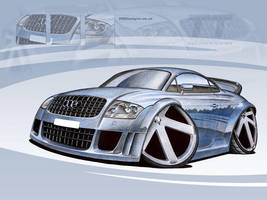 Audi TT Caricature by PGDsx