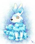 [Speedpaint] Blue Rabbit by ViviNoSekai