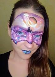 Purple Galaxy by ciphersilva