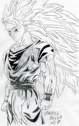 Goku ss3 by LordHaji91