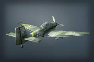 Ju 87G2 Stuka rerendered by warag