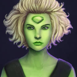 Peridot from Steven Universe by IZOLYZM