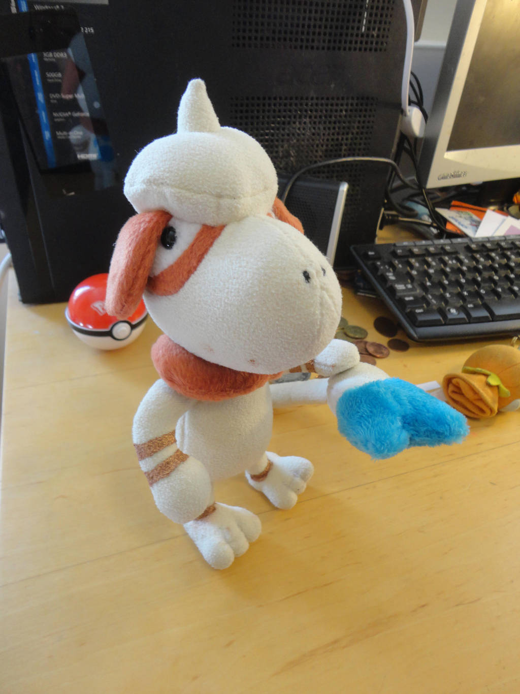 Blue-tailed Smeargle plush by Rinabow