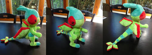 Flygon plush by Rinabow
