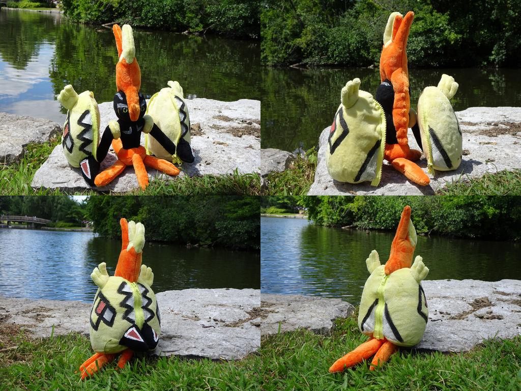 Tapu Koko Zip-up plush by Rinabow