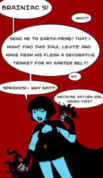 Shadow Lass Reacts Poorly by YouveGotTaste