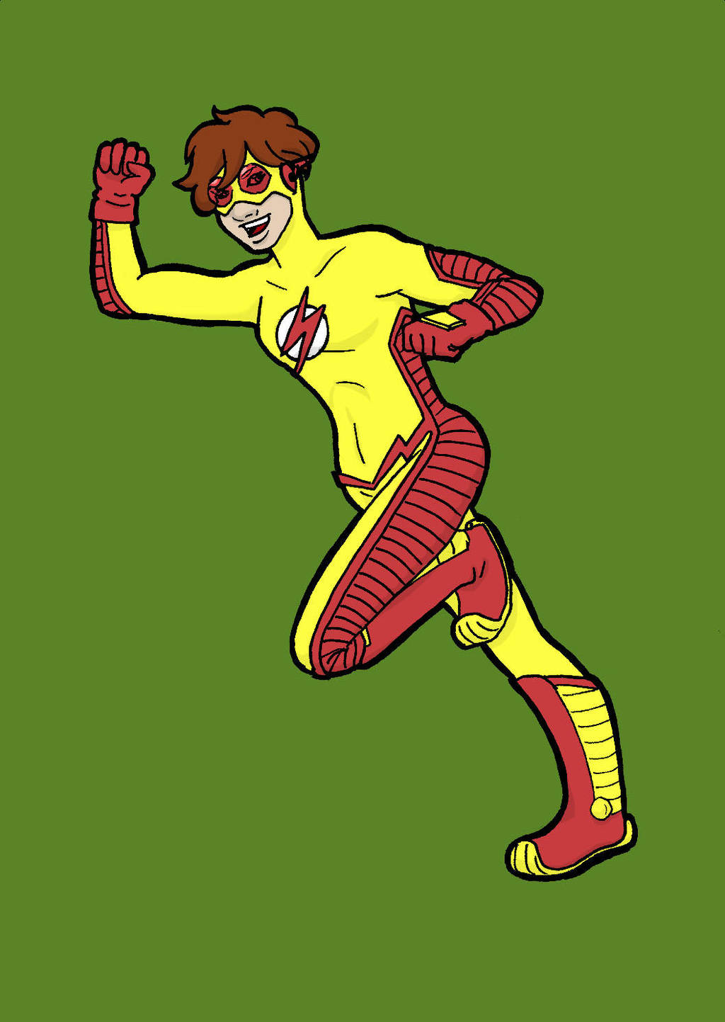 TT Char Ref: Kid Flash by YouveGotTaste