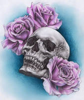 Skull by kritzelkiki