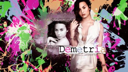 Demetria Wallpaper by unbrokenhearts
