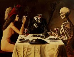 strange diner by awikbalaian