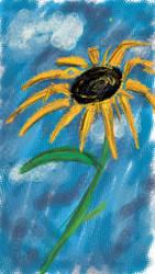 Sunflower Doodle by JackGrimm