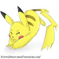 Pikachu.. by Photo-Freak7
