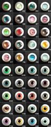 Urethane eyes - preoreder by K-a-o-r-i