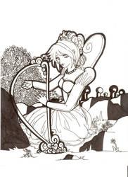 Queen Alyss Heart by painterchick