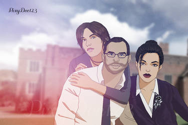 The Croft family by PixyDee123