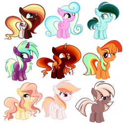 Mlp Foal Adopts Batch OPEN by JunkDrawerAdopts
