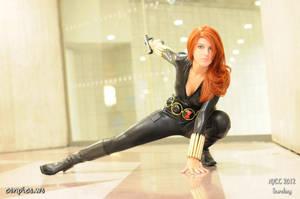 Black Widow! by itsthekitsunekid