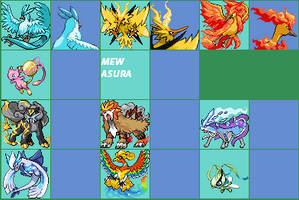 Mega fake evolutions by x-sky300