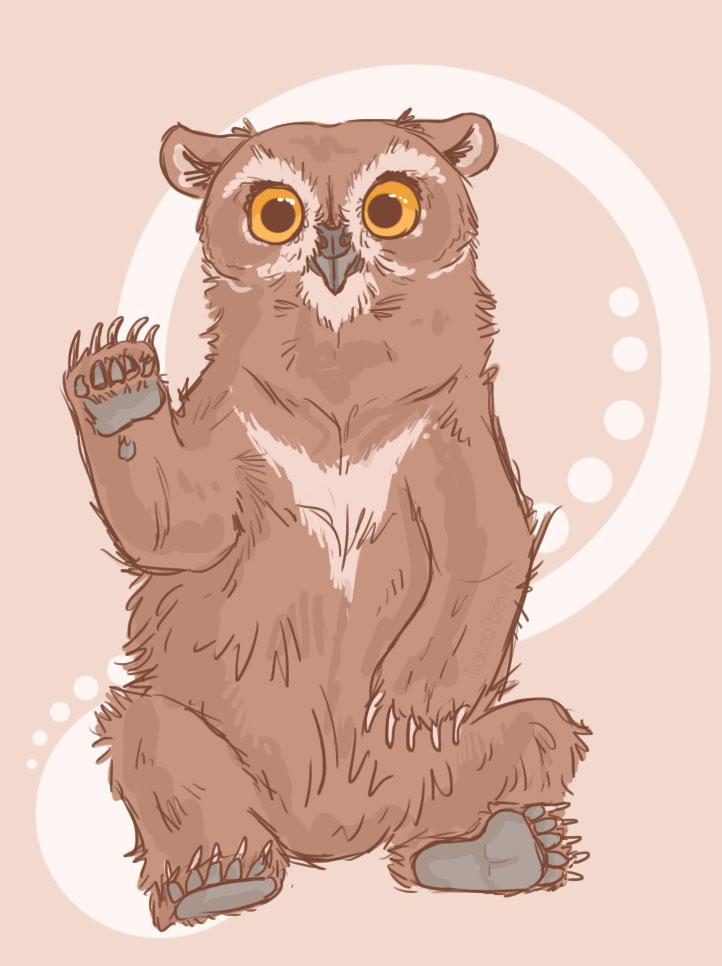 Owlbear by LauraBev
