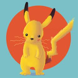 Pikachu by LauraBev
