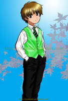 Syaoran: The Prom King-colored by TrulyTuyet