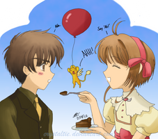 Say 'Ahh' - Syaoran's Birthday 2012 by TrulyTuyet