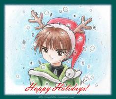 Happy Holidays from Syaoran by TrulyTuyet