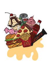 Junk Food by gemlovesyou