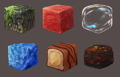 Cubes by Afzepanda