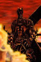 Steampunk Batman by odingraphics