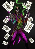 Steampunk Joker by odingraphics