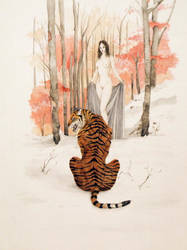 The Tiger's Bride by odingraphics