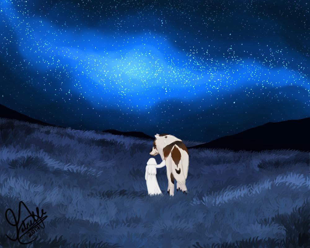 A long time ago in a galaxy far, far away.... by ElderiaArts